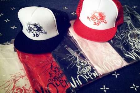 VIOLENT GRIND 30th ANNIVERSARY PRODUCTS NEW ARRIVAL