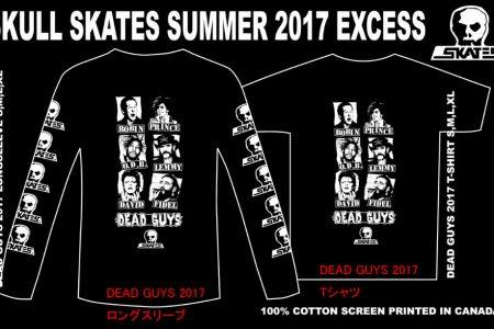 SKULL SKATES DEAD GUYS 2017 Reservation