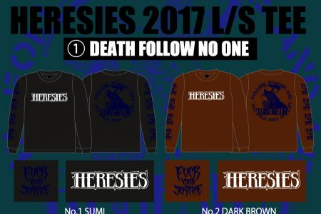 HERESIES September~October Reservation