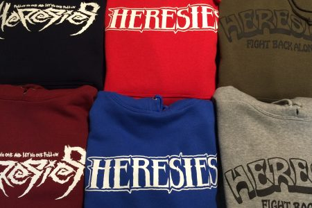 HERESIES 2017  PULLOVER NEW ARRIVAL