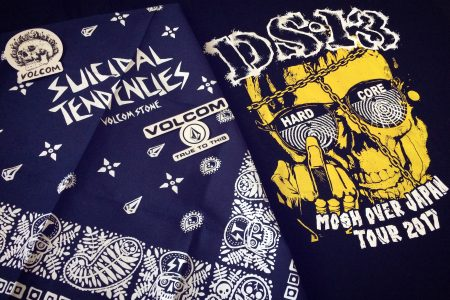 Thanks!MxExG, DS-13 Tee & VOLCOM feat. SxTx BANDANA !!