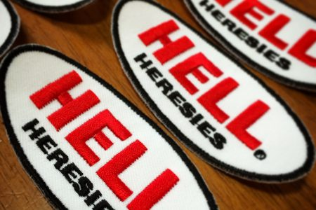 HERESIES HELL Embroidery Patch