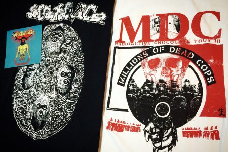 Thanks!MxExG, M.D.C & SCROTAL VICE Tees!!