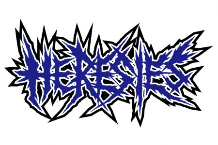HERESIES MIDNIGHT RIDER BLUE LOGO