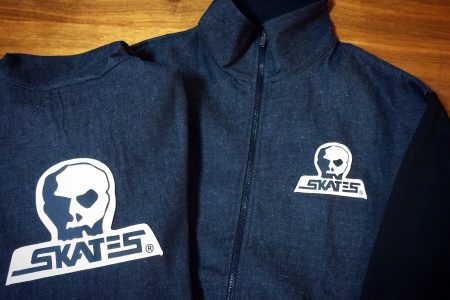 SKULL SKATES CANVAS CLUB ZIP JACKET NEW ARRIVAL
