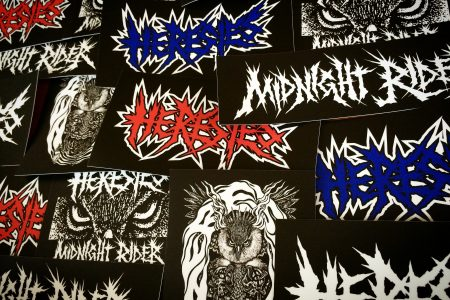 HERESIES MIDNIGHT RIDER SERIES STICKER