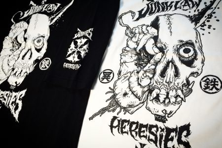 JUNKLAW x HERESIES Artwork by MxExG 2018 NEW ARRIVAL