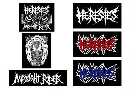HERESIES 2018 NEW STICKER RESERVATION