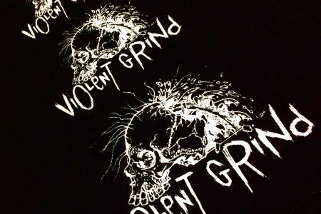 "ViOLeNT GRiNd ""HAND PRINT"" by KURO T-Shirts NEW ARRIVAL"