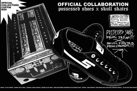 SKULL SKATES x POSSESSED SHOES OFFICIAL COLLABORATION SHOES RESERVATION