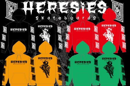 HERESIES 2019 F/W RISE ABOVE Artwork by MxExG PULLOVER RESERVATION