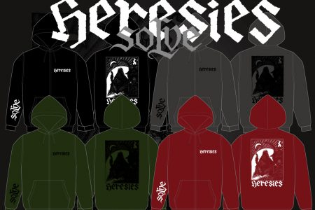 HERESIES 2019 SOLVE Artwork by KAZUHIRO IMAI ZIP HOODIE RESERVATION