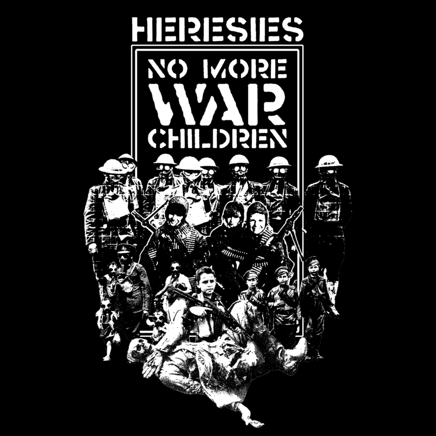 HERESIES 2021 CHILDREN AT WAR Artwork by KAZUHIRO IMAI