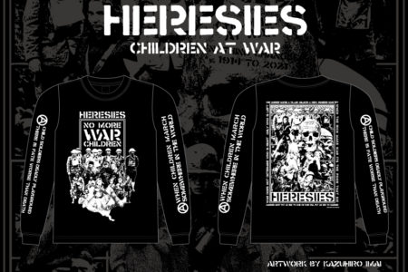 HERESIES 2021 CHILDREN AT WAR Artwork by KAZUHIRO IMAI RESERVATION