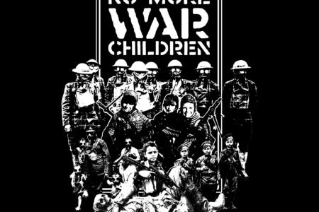 HERESIES 2021 CHILDREN AT WAR Artwork by KAZUHIRO IMAI